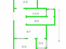 南岭国际 6+1顶楼 仅此一套 两室一厅 43万 包更名 快下本 速购