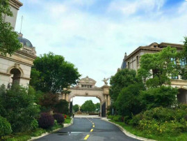 嘉兴 御华名都市中心的法式宫廷小套联排别墅自带电梯送大花园