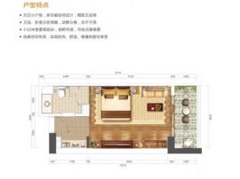 海口刚需现房 锦地翰城精装公寓送家具家电 万达广场+市一中 配套齐全